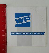 Aufkleber/Sticker: WP - Mit uns beginnt der Tag (150217113)