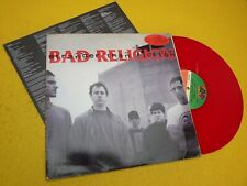 LP Bad Religion ‎– Stranger Than Fiction Red Vinyl Special edit Colored Insert ç