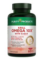 Krill Omega 10X with CoQ10 and more EPA & DHA  Super Formula