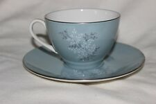 Royal Doulton Forest Glade Blue Cup Saucer T.C. 1014