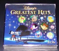 DISNEY´S GREATEST HITS 3 CD BOX 60 TITEL IN ENGLISCH SCHNELLER VERSAND NEU & OVP