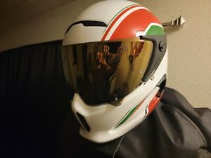 ruroc helmet, Velos size S, with 3 visors and helmet bag