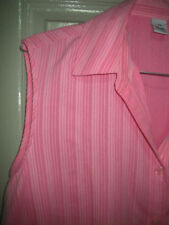Polyester Pinstripe Regular Casual Tops & Blouses for Women