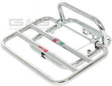 Porte-bagages pour Arrière Faco Chrome Piaggio Vespa LX 50 125 150
