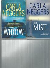 CARLA NEGGERS - THE WIDOW -  A LOT OF 2 BOOKS