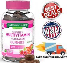 Women's Vitamin C D Zinc Antioxidant Energy Metabolism Immune Support 70 Gummies