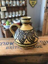 Vintage East German Pottery Shaped Vase – VEB Haldensleben? Retro!