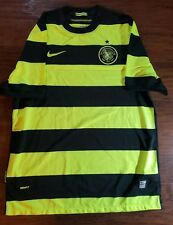 Celtic FC Soccer Futbol Nike Bumblebee Style Jersey Large