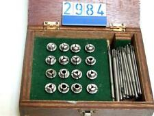 """Collet Set To 13/64"""" In Wooden Case (2984)"""