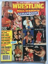 HULK HOGAN/LOU ALBANO Wrestling All Stars Magazine Scrapbook Volume 2 1986
