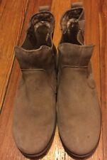 UGG Australia Bonham Suede Ankle Boots 1009210 Sand Tan Leather Sz11