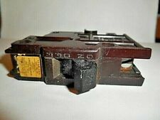 Federal Electric Products Co. 20Amp 1 Pole Circuit Breaker Stab-Lok Cat No. 20