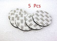 5 Pcs 3M Round Super Strong Double Sided Black Foam Pad Mounting Adhesive 60mm