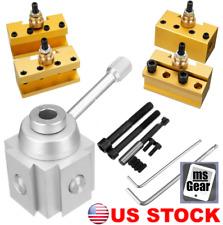 14pcs Set Quick Change Post Holder Boring Bar Turning Tool Holder Cnc Mini Lathe