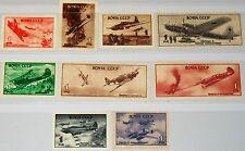 Russia Unione Sovietica 1945 972-80 993-01 giorno della Luftwaffe Aircrafts aerei MNH