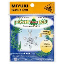 Miyuki Cuentas Mascota Ventilador Kit | Cristales bisutería de nieve No.53 (R22/8)