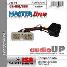 CONNETTORE ISO RADIO ORIGINALE PER ISUZU TRUCK - ADATTATORE AUTORADIO MASTERLINE