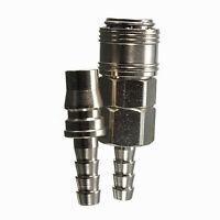 Male Female 8mm Gas Hose Nozzle Copper Quick Release Connector For Caravan BBQ