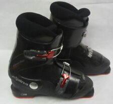Alpina Lightweight Two Buckle Used Kids Youth Junior Ski Boots Mondo Size 22.0