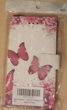 STARCITY (STAR CITY) BUTTERFLY ROSE FLIP PU LEATHER CASE FOR SONY XPERIA XZ1 NEW