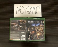 Call of Duty 3 Cover Art Empty Replacement Original Case Xbox One 360 Custom III
