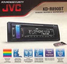 JVC KD-R890BT Single-din AM/FM/CD front AUX/USB Receiver w/ build-in Bluetooth