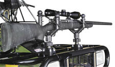 Universal ATV UTV Cushioned Gun Rack Rifle Tool Holder QuadBoss