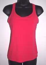 Calvin Klein Performance Quick Dry Size Small Pink Criss Cross Athletic Top