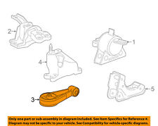 Chevrolet GM OEM Spark Engine Motor Transmission-Lower Trans Mount 95367310