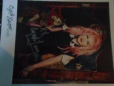 original Cyndi Lauper-Autogrammkarte, International, Musik