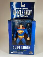 "DC Direct Batman The Dark Knight Returns SUPERMAN 7"" Action Figure 2004 New"