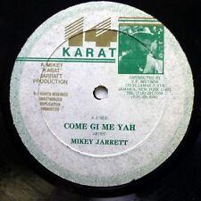 "MIKEY JARRETT Raggamuffin / Come gi me yah 12"" reggae   #1063"