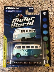 Geenlight Green Machines volkswagen Samba Bus
