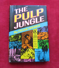 Frank Gruber PULP JUNGLE SIGNED & THE HUNGRY YEARS MS