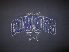 Dallas Cowboys rhinestone Star  bling t-shirt (LARGE ONLY)