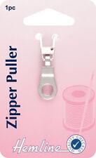 L'ourlet - zipper extracteur silver ring attachent à zip, facile pour ouvrir & fermer-Pack 1