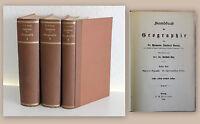 Daniel Handbuch der Geografie 3 Bde 1894 Landeskunde Weltweit Europa Deutschland