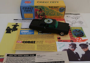 Custom Corgi Green Hornet Black Beauty in Special 268 Fantasy Box & Extras