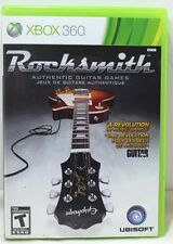 XBox 360 Rocksmith Authentic Guitar Game and case only