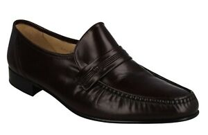 MENS GRENSON LEATHER SLIP ON SMART FORMAL PARTY OCCASION SHOES SIZE KENTUCKY