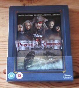 Pirates Of The Caribbean At World's End Steelbook Blu-ray Zavvi (inclus VF)