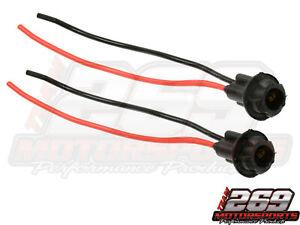Side Marker Light Bulb Socket Fits 194 194A T10 168 T15 Fits GM Chevrolet QTY 2