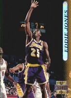 1996-97 Stadium Club Los Angeles Lakers Basketball Card #97 Eddie Jones