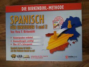 Spanisch für Einsteiger 1 & 2 Vera F. Birkenbihl Audiosprachkurs