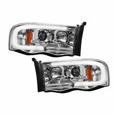 RECON 264191CLC Dodge Ram 02-05 1500  2500  3500 Clear-Chrome Headlights