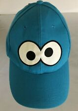 Sesame Street Cookie Monster Summer Hat Cap Adjustable UPF 50+ New With Tags