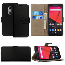 Cases For Vodafone Smart V10 & N10 Book Cover Wallet Genuine Leather Phone Case