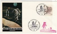 Germany 1969 Munich cancel Space Man on Moon stamps cover ref 21762