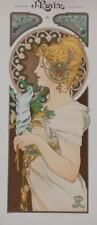 Alphonse Mucha Feather J Royer Printing Company Limited Edition Lithograph S2