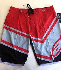 Alpinestars Men's Board Shorts HD3 Plyometric Red/Grey Size 31 NWT Villopoto
